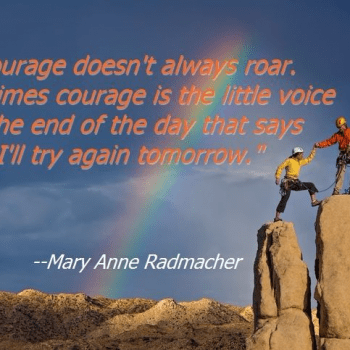 mary anne radmacher