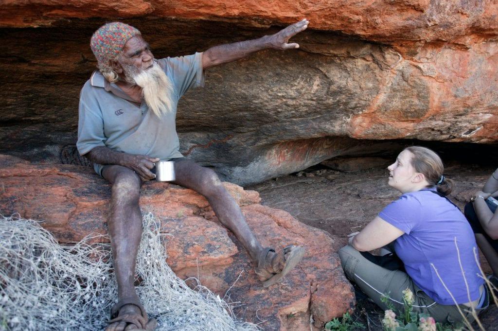 building relationships Indigenous people